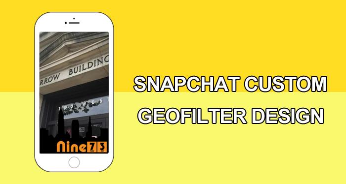 Snapchat Custom Geofilter Design